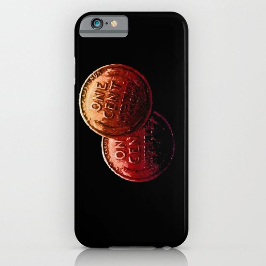 Just My 2 Cents    0008 iPhone & iPod Case