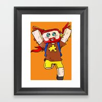 Getting Jiggy With It - … Framed Art Print