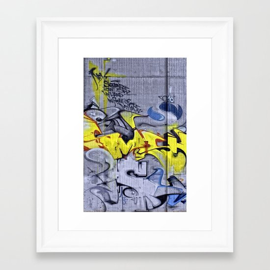 Wall-Art 001 Framed Art Print