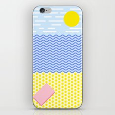 The beach iPhone & iPod Skin