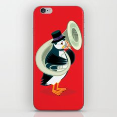 Puffin On A Tuba iPhone & iPod Skin