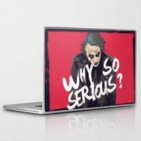 joker Laptop & iPad Skins featuring Joker  by FourteenLab
