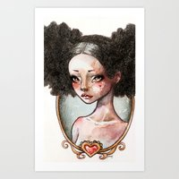 Sweet Ebony Art Print
