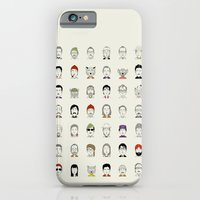 iPhone Cases featuring The Characters of W by Alejandro Giraldo