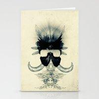 A black angel from Aksoum Stationery Cards