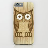 iPhone & iPod Case featuring Owl Always Love You by Shipwreck Moon Designs