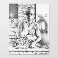 Annwn Canvas Print