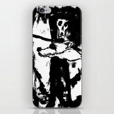 Dandy Fox Demonix (In Black Distortion) iPhone & iPod Skin