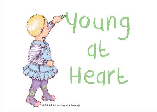 Young at heart Art Print