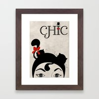 Chic Framed Art Print