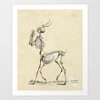 Liminal Being Art Print