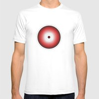 Circle Study No. 469 Mens Fitted Tee White SMALL