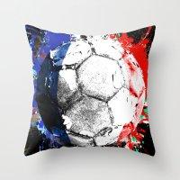 football France Throw Pillow