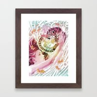 Cub Framed Art Print