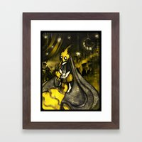 Golden Age of Decadence Framed Art Print