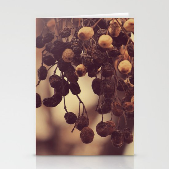Autumn life Stationery Card