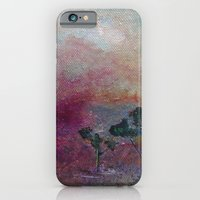 iPhone & iPod Case featuring Dustbowl sunset by Katy Hands