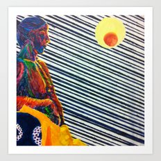 Blinds Art Print