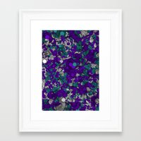 Chaotic Pattern Framed Art Print