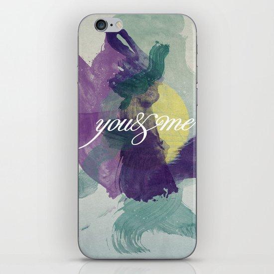 you&me iPhone & iPod Skin