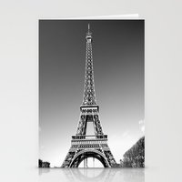 eiffel Stationery Cards featuring eiffel by Michelle Loidl