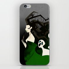 Hel the Goddess of Death iPhone & iPod Skin