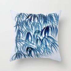 blue breeze Throw Pillow