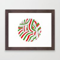 Holiday Ball Framed Art Print