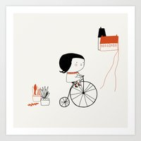 Hectora 2 Art Print