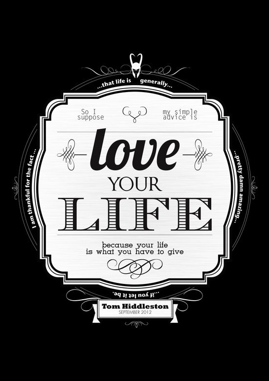 Love your Life Art Print