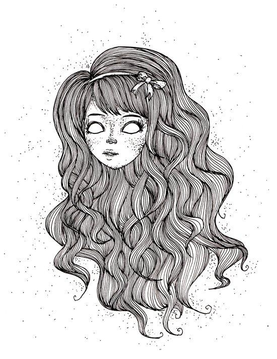 Curly-wurly Art Print