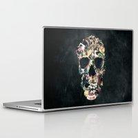 skull Laptop & iPad Skins featuring Vintage Skull by Ali GULEC
