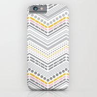 iPhone & iPod Case featuring Dash & Dot - Neapolitan by Heather Dutton