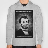 16. Zombie Abraham Lincoln  Hoody