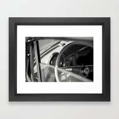 Car Cockpit 09 Framed Art Print