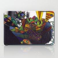 Psychoactive Bear 8 iPad Case