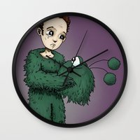 Man In The Monster Ronky… Wall Clock