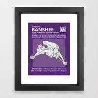 Banshee Service And Repa… Framed Art Print