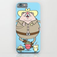 iPhone & iPod Case featuring Sherif Fatman and Fast Food by Tratinchica