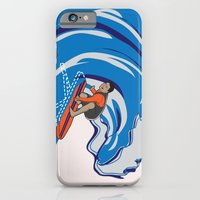 iPhone & iPod Case featuring Pressing Waves by Danielle Podeszek