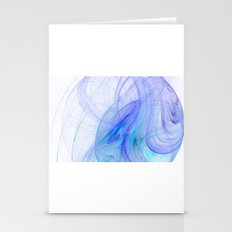 In the blue  Stationery Cards