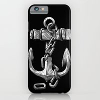 anchor iPhone & iPod Cases featuring Anchor by pakowacz