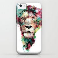 iPhone 5c Cases featuring THE KING by RIZA PEKER