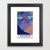 Dalaran Classic Rail Pos… Framed Art Print