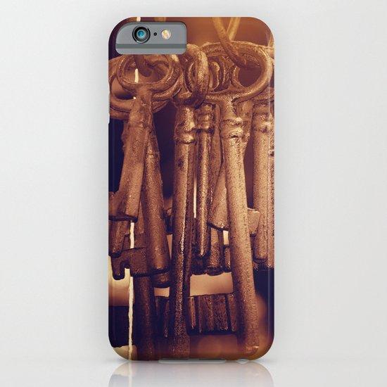 Hanging Keys+Bokeh iPhone & iPod Case