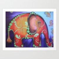 elephanty Art Print