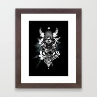 Orchids & Diamonds Framed Art Print