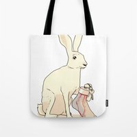 Lucky Keychain Tote Bag