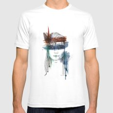 Dream Maker Mens Fitted Tee White SMALL