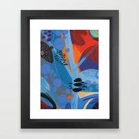 Drops II Framed Art Print